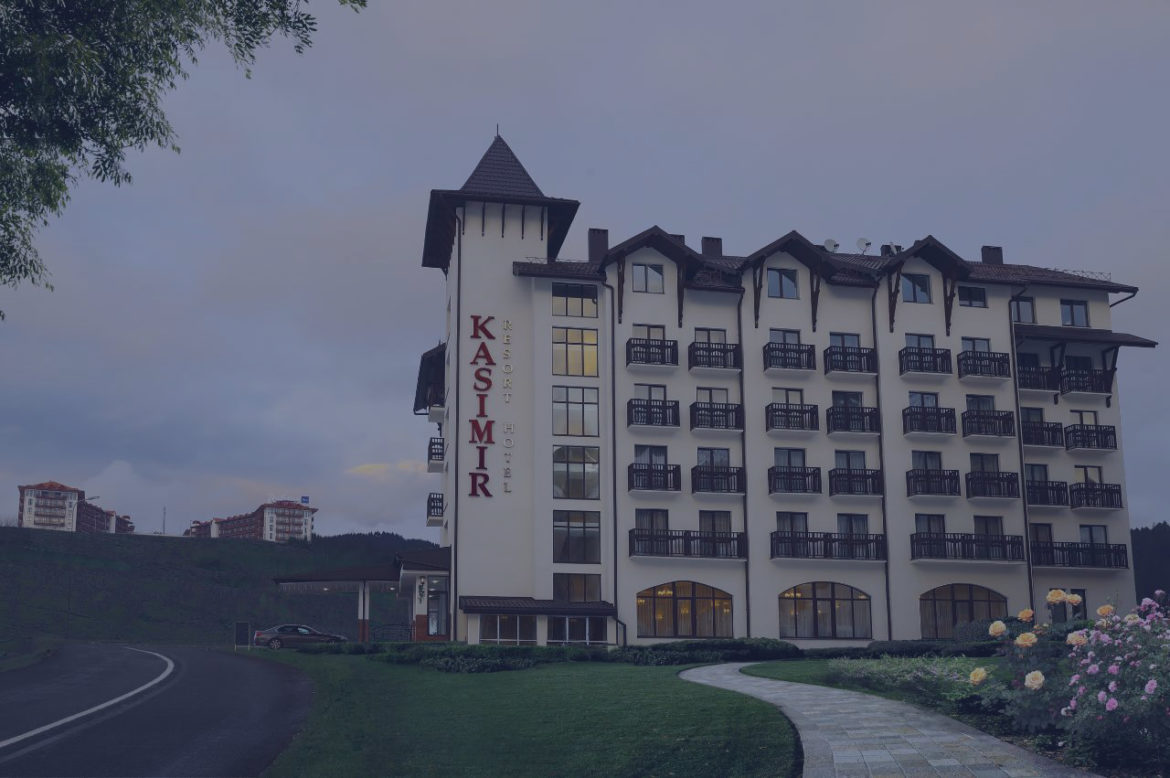 Новий сайт Kasimir Resort Hotel