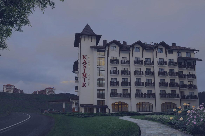 Новий сайт Kasimir Resort Hotel
